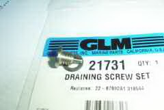 21731 Oil drain screw with magnetic
