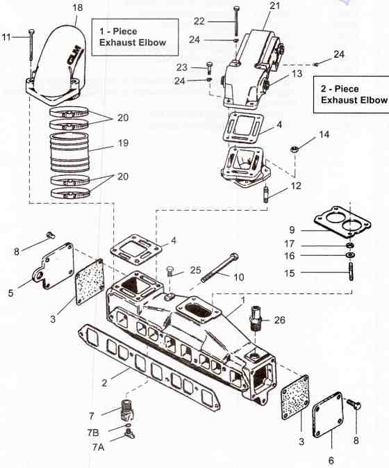 mercruiser alpha one drain plug diagram